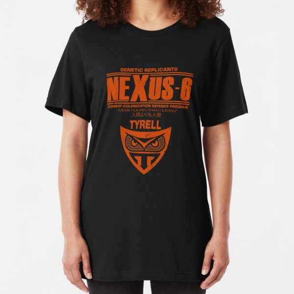 Nexus 6 - Blade Runner - Tyrell Slim Fit T-Shirt