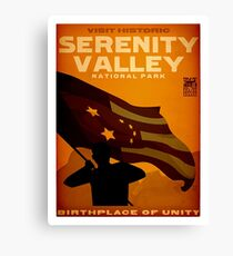 Serenity Valley Canvas Print