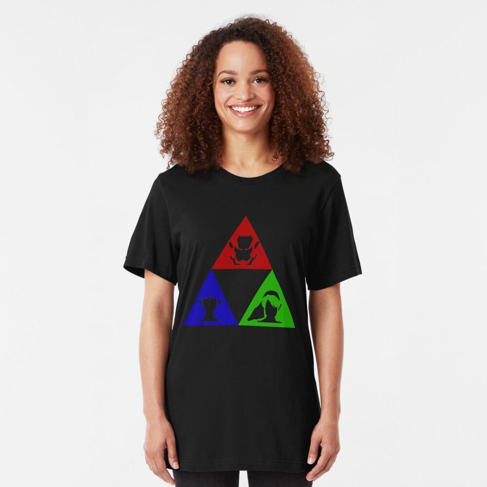 Macht - Weisheit - Mut Slim Fit T-Shirt
