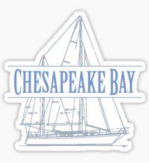 Chesapeake Bay Sailing Sticker