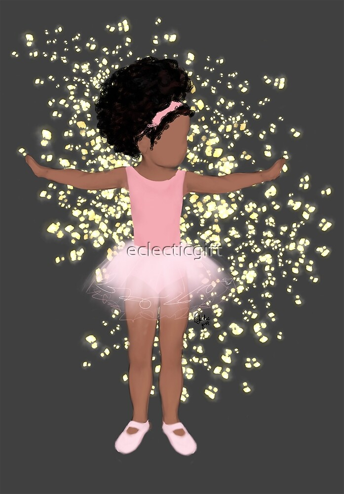 Baby brown ballerina by eclecticgift