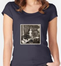 standing at the crossroads Women's Fitted Scoop T-Shirt
