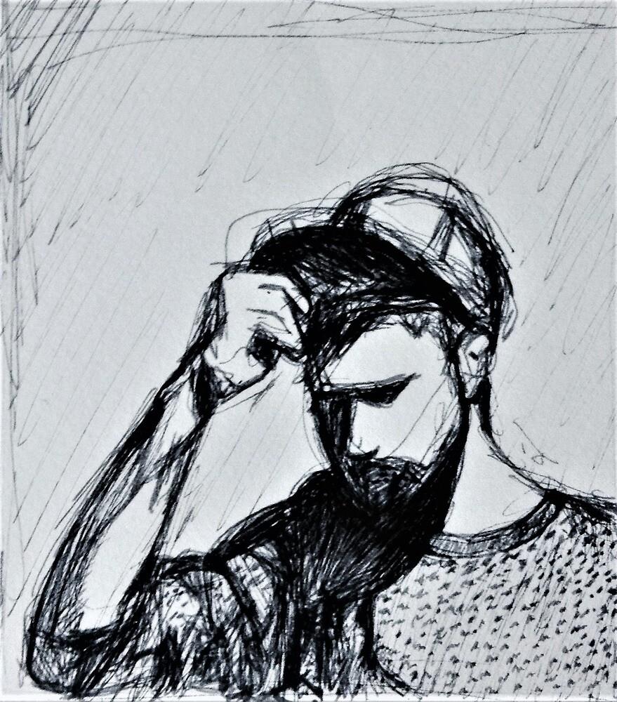 Nick Mulvey (Musician) Drawing by Sarah B