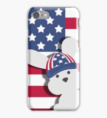 INDEPENDENCE DAY BUNNY iPhone Case/Skin
