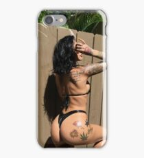 Alby Rides Snapchat Poster iPhone Case/Skin