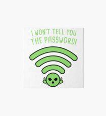 Password! Art Board