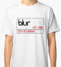 Blur - City of London street sign Classic T-Shirt