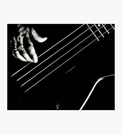 Bass Pickin' Photographic Print