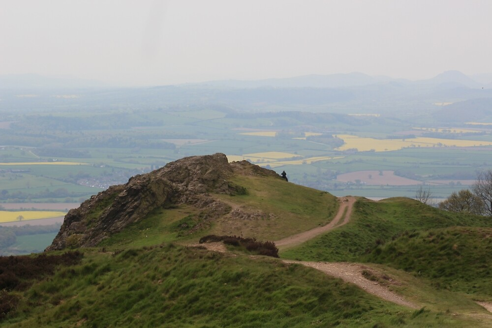 At the top of the Wrekin by JEmerald