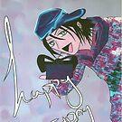 Manga Bday Card by debzandbex