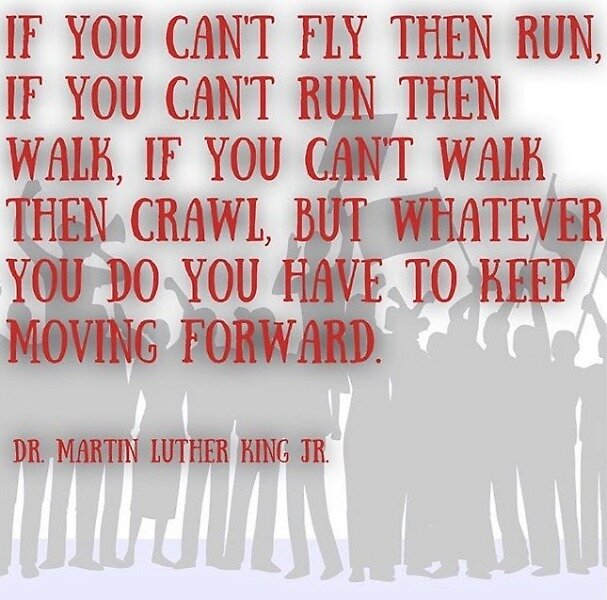 Keep Moving Forward by MountainLiberal