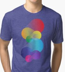 Colourful Abstraction Tri-blend T-Shirt