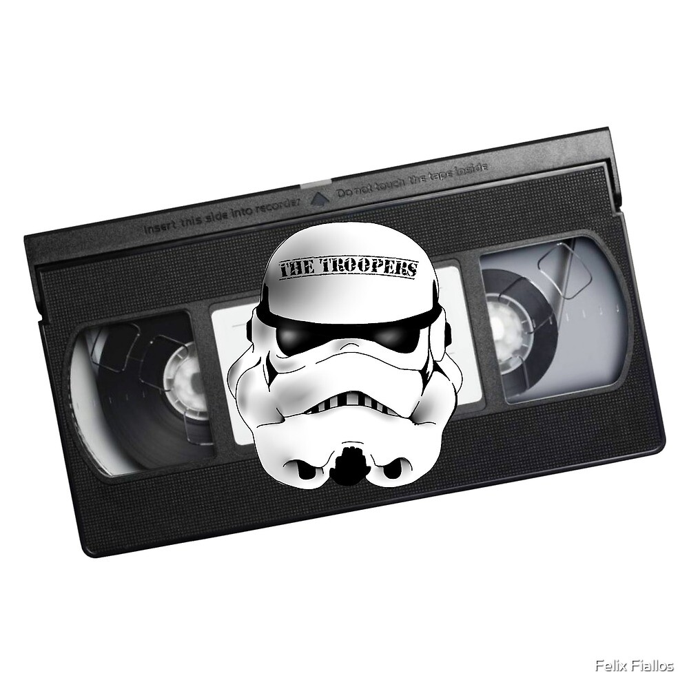 The Troopers vhs tape by Felix Fiallos