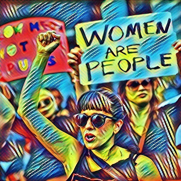 Women Are People by MountainLiberal