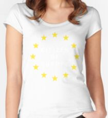 Citizen of Europe Women's Fitted Scoop T-Shirt