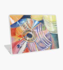 Color Pencil Disc Art Laptop Skin