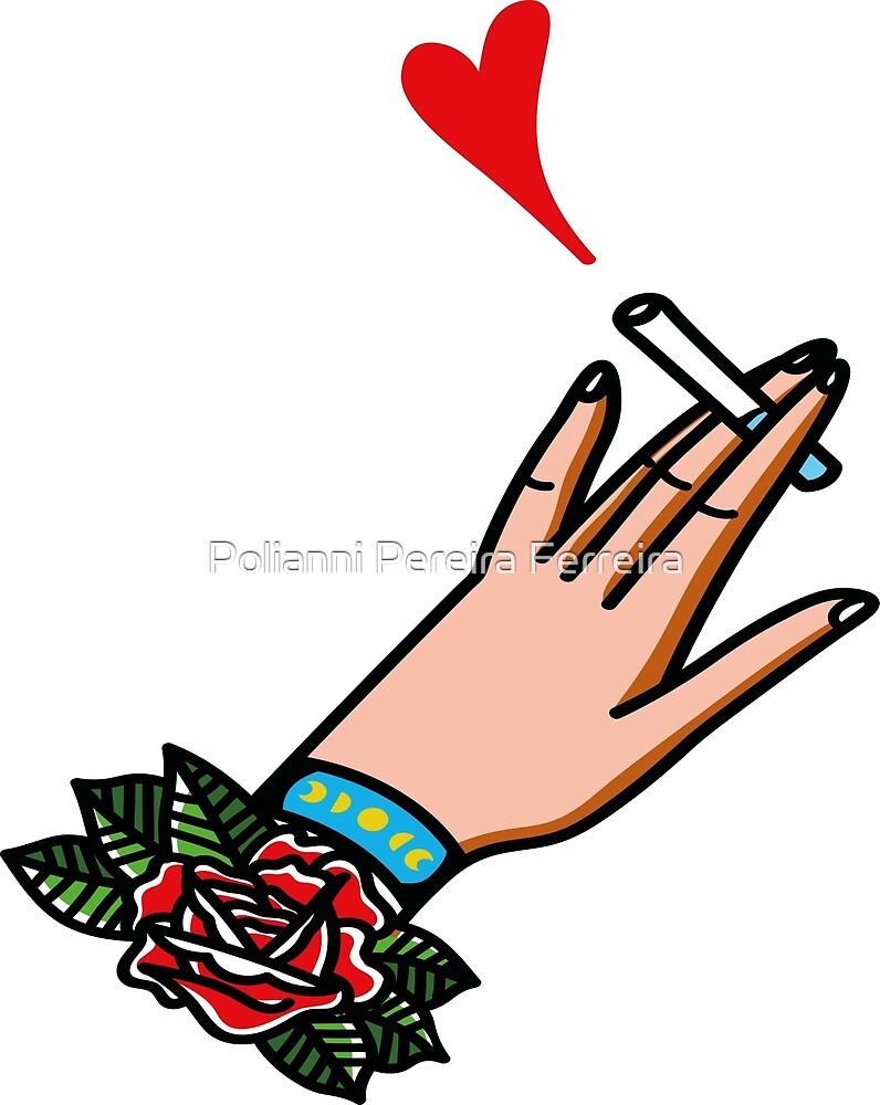Smoke heart by Polianni Pereira