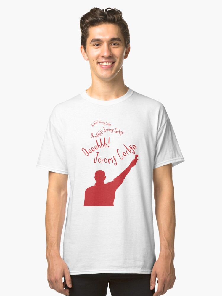 Ooohhh!! Jeremy Corbyn Classic T-Shirt Front