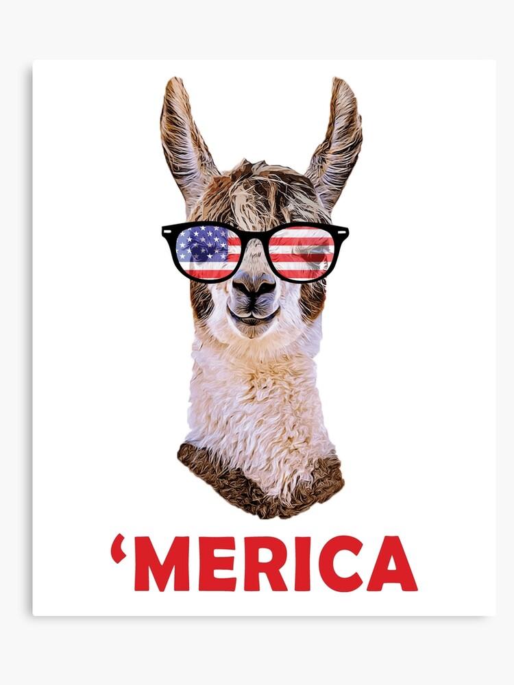 «'merica 4 Gafas Sol Lienzo De Llama Julio Funny Patriotic Usa jLUpzVGqSM