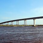 Bridge To Sunset Beach by Cynthia48