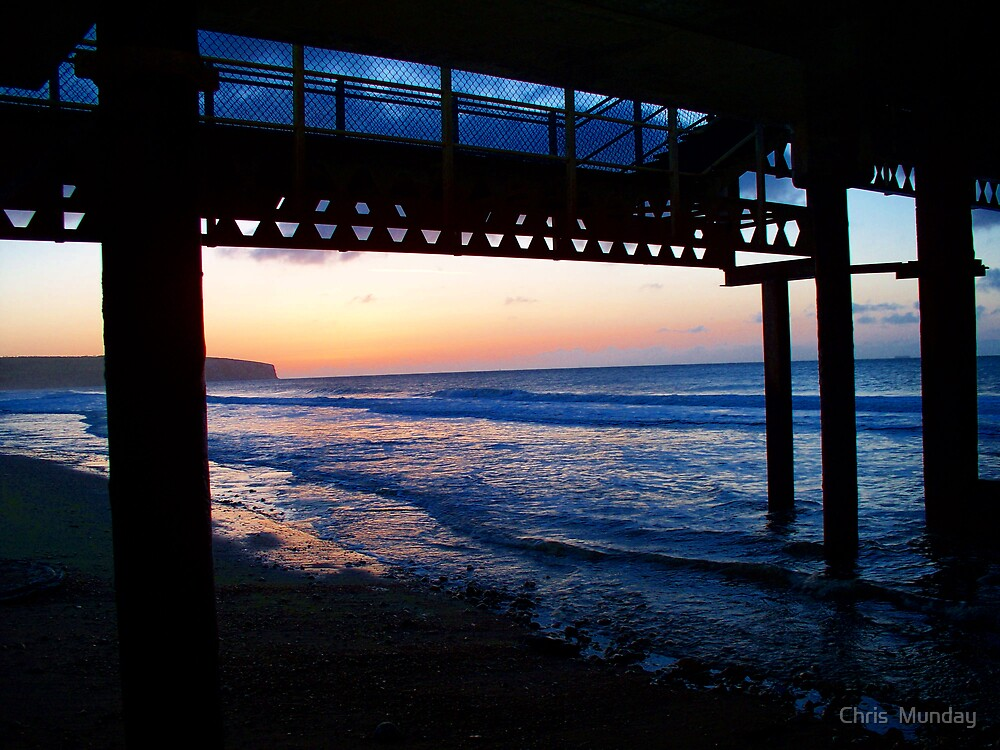 Under The Pier by Chris  Munday