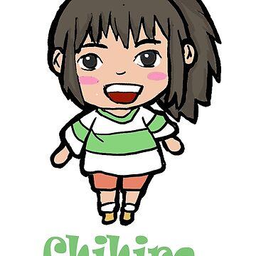 Chihiro- Spirited Away  by justcallmeariel