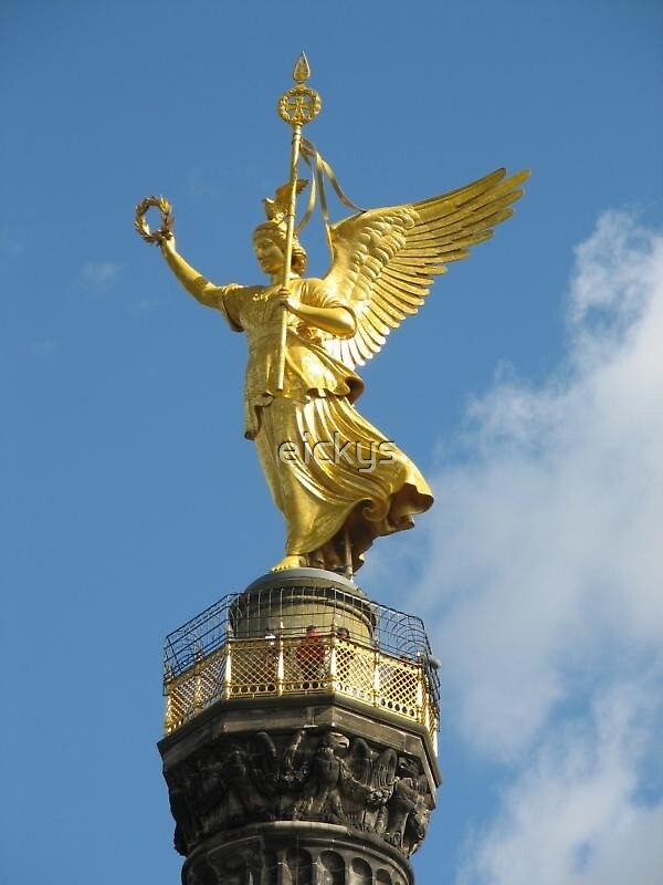Berlin Victory Column by eickys