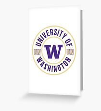 UNIVERSITY OF WASHINGTON Greeting Card