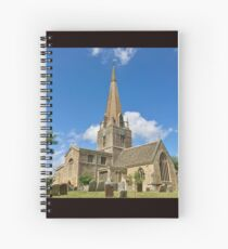 England - Oxfordshire - Bampton - St. Mary's Church Spiral Notebook