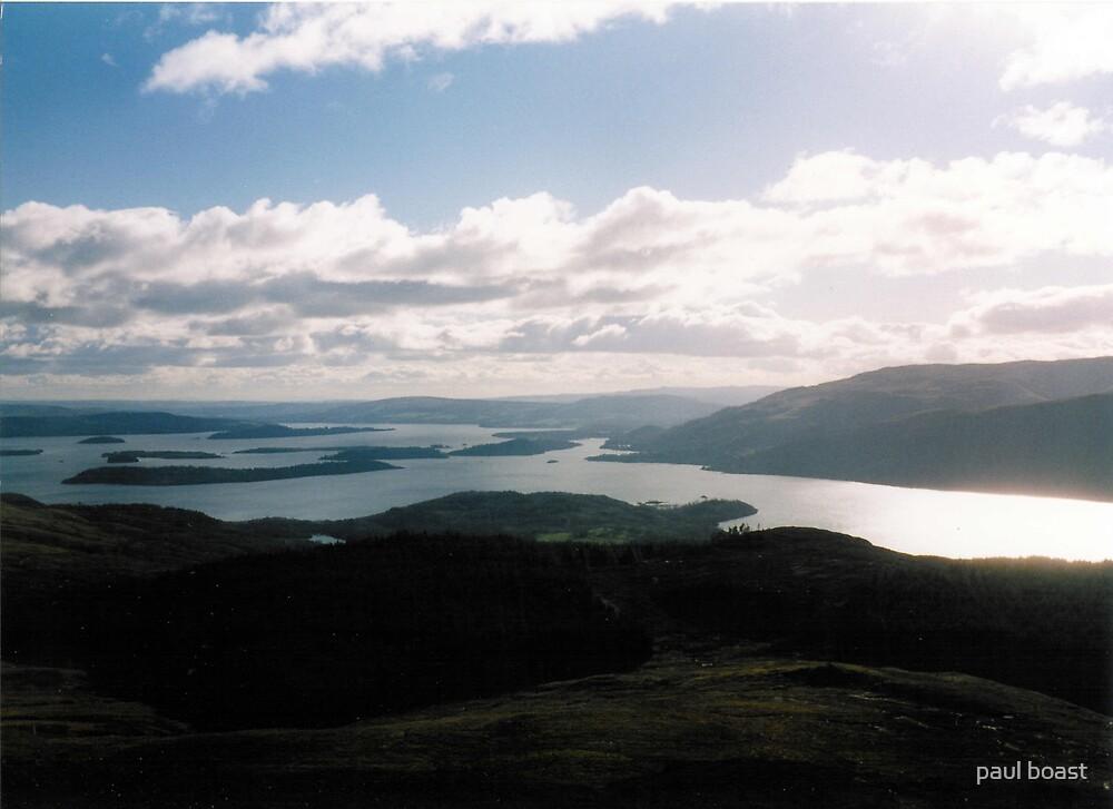 Loch Lommond , looking south by paul boast