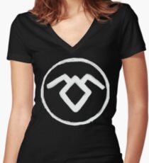 The Way of the Lodge Women's Fitted V-Neck T-Shirt