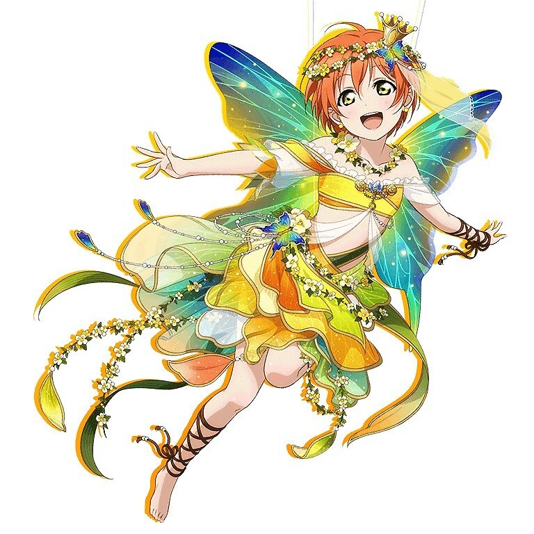Love Live - Fairy Rin by Erzafairyqueen