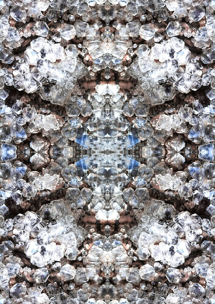 Mirrored Crystal  by Vanessa Natalie  Lovell