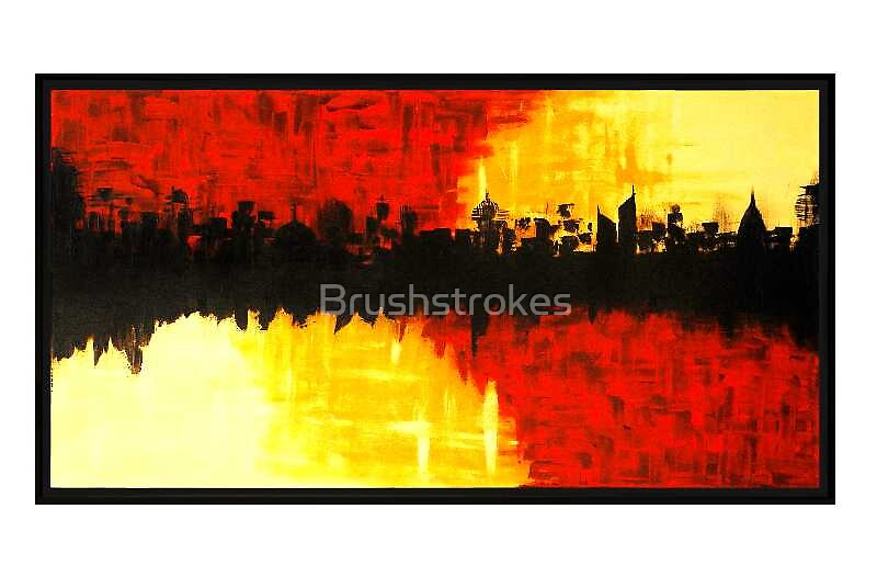 Metropolis Rising by Brushstrokes