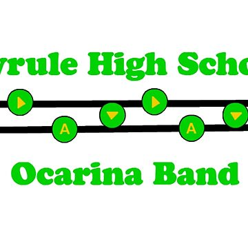 Hyrule High School Ocarina Band by TangerineKiki