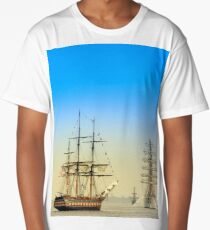Sail Boston - Oliver Hazard Perry Long T-Shirt