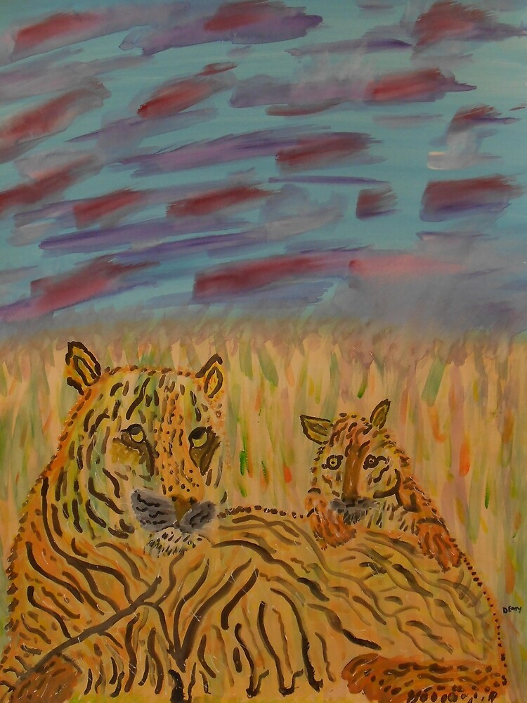 MOMMY AND CUB by Denise Davis