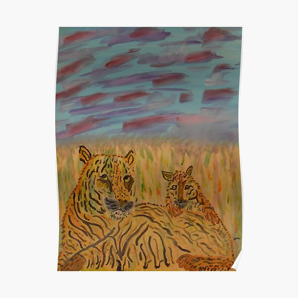 MOMMY AND CUB Poster