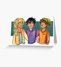 PJO Trio Greeting Card