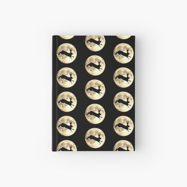 Hare and Moon Hardcover Journal