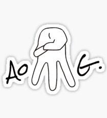 AOMG  Sticker