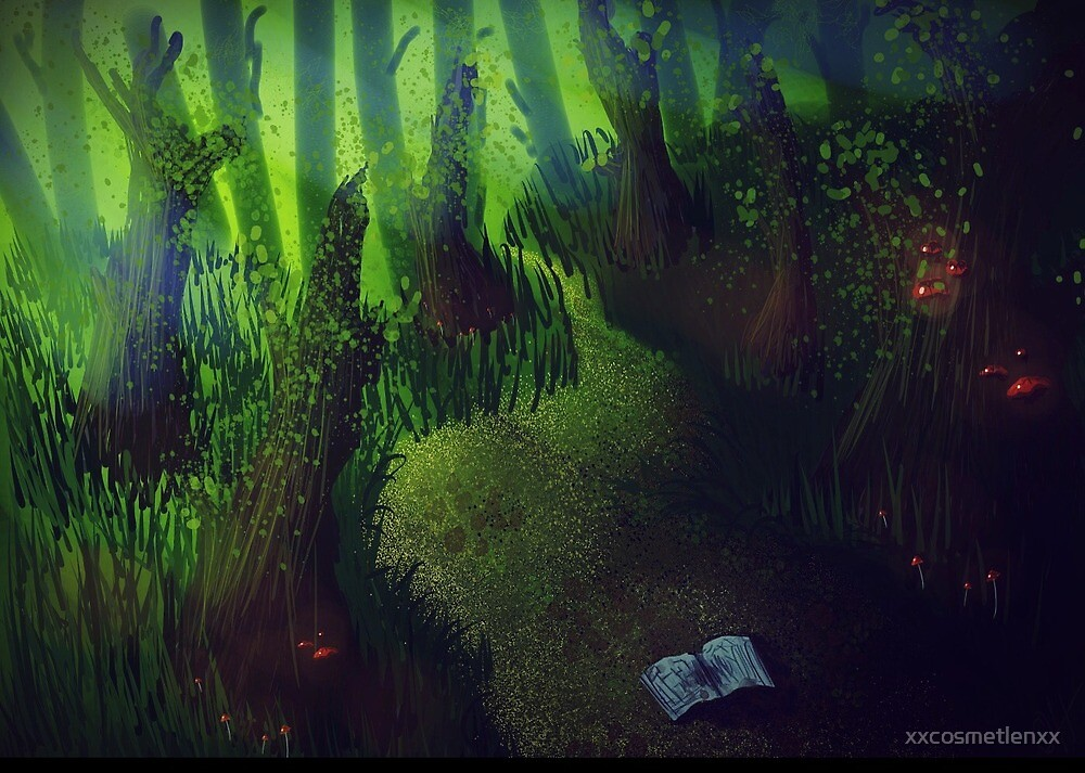 Mushroom Forest by xxcosmetlenxx