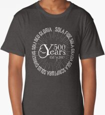 500 YEARS Reformation Celebration 5 Solas Long T-Shirt