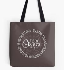 500 YEARS Reformation Celebration 5 Solas Tote Bag
