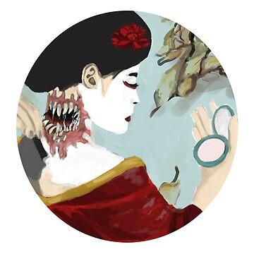 Geisha Yokai by justcallmeariel