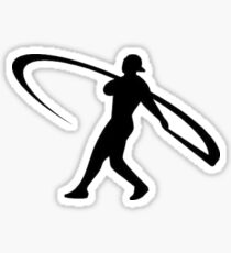 Ken Griffey Jr Logo Sticker