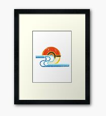 Pokemon Beach Tee Framed Print