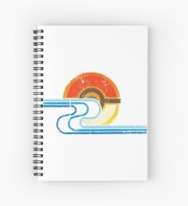 Pokemon Beach Tee Spiral Notebook
