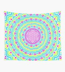 Flower Of Life Mandala 3 Wall Tapestry