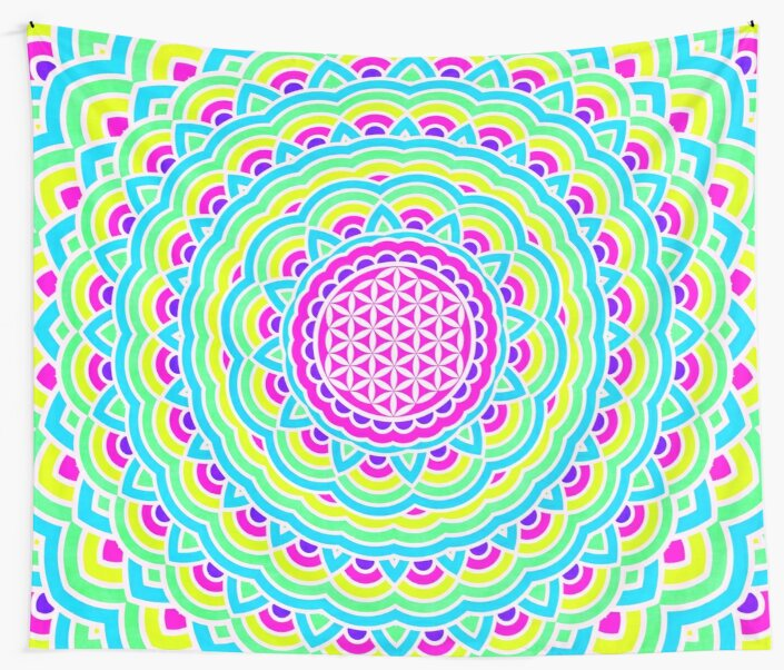 Flower Of Life Mandala 3 by PatternsofLife